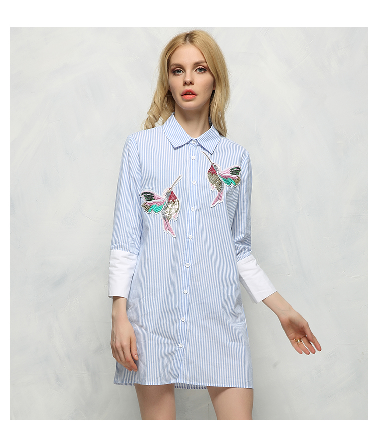 HTB1dipWSXXXXXXpXVXXq6xXFXXXz - New arrival 2017 Women Bird Embroidered Blouse Shirts fashion Long sleeve