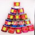 1 мм 100 ярдов Атласная Rattail Нейлоновый Шнур Смешанные 33 Цветов Китайский Узел Бисероплетение Макраме Темы Веревка Шамбала DIY Ювелирных выводы