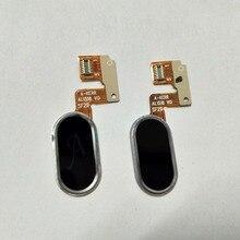 Original Para Botão Home Nota MEIZU M3 Módulo (NÃO para L681H) sensor de toque ID OK Chave Botão do Sensor de Impressão Digital