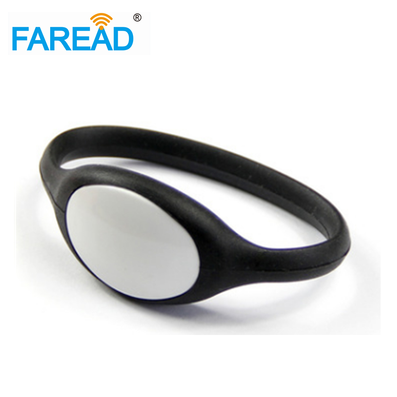 X100pcs Free Shipping Alien H3 Wristband Uhf RFID Bracelet For Wimming Pool, Cooling Store