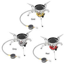 1 With Ignition 3500W Windproof Outdoor Infrared Stove Cooker Hiking Camping Picnic Gas Stove Infrared Heating Roasting Cookout цена и фото