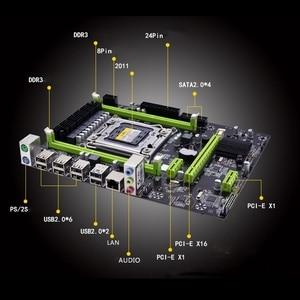 Image 5 - X79M proのマザーボードインテルlga 2011 E5 2640 2650 2660 2680 Ddr3 1333/1600/1866mhz 32ギガバイトM.2 pci e m atxマザーボード