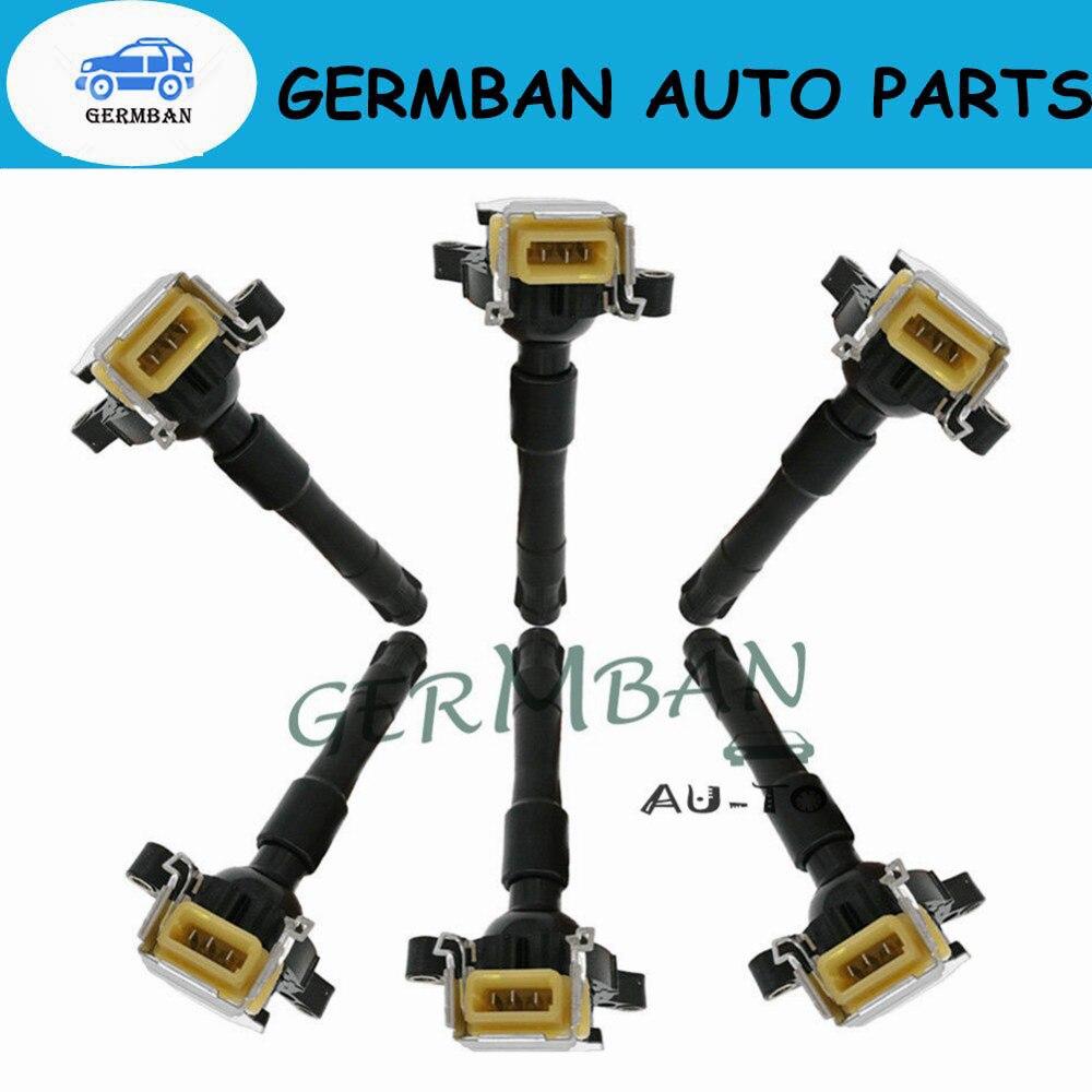 UF354 Set of 8 Ignition Coil For BMW E46 E39 X5 Z8 E36 325 330 328 525i 540i M3