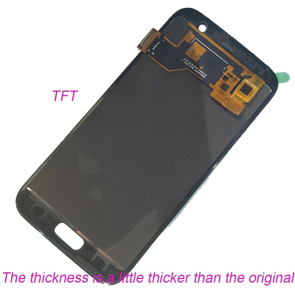 Test OLED LCD pour SAMSUNG Galaxy S7 G930 G930F LCD écran tactile numériseur pour SAMSUNG S7 G930F SM-G930F assemblée - 2