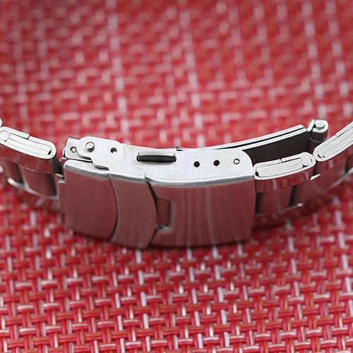 قمة الموضة العلامة التجارية الرجال اليد متعرجا الهيكل العظمي التلقائي الميكانيكية الفولاذ المقاوم للصدأ الرياضة ساعة معصم ساعة أوتوماتيكية relogio