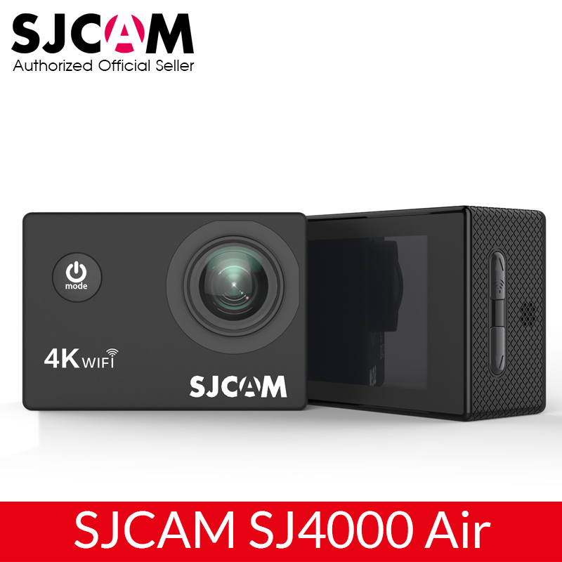 "SJCAM SJ4000 AIR 4K Action Camera Full HD Allwinner 4K 30fps WIFI Sport DV 2.0"" Screen Mini Helmet Camera Waterproof Sports DV(China)"