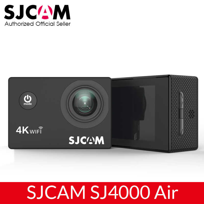 "SJCAM SJ4000 Air 4K Action Camera Full HD Allwinner 4K 30fps Wifi Olahraga DV 2.0 ""Layar Mini helm Kamera Tahan Air Olahraga DV"