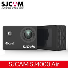 "SJCAM SJ4000 AIR 4K Action Camera Full HD Allwinner 4K 30fps WIFI Sport DV 2.0"" Screen Mini Helmet Camera Waterproof Sports DV"