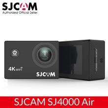 """Sjcam câmera de ação 4k sj4000 air, câmera full hd, allwinner, 4k, 30fps, wifi, monitoramento de atividades esportivas, dv, tela 2.0 """"câmera para capacete dv à prova d água, câmera esportiva para capacete dv"""