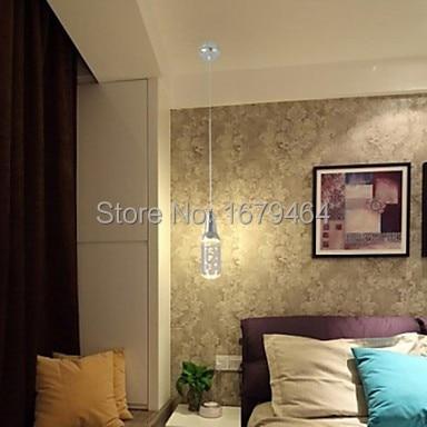 LED 5W  Single 1 Light Wine Bottle LED Acrylic Pendant Light Free Shipping