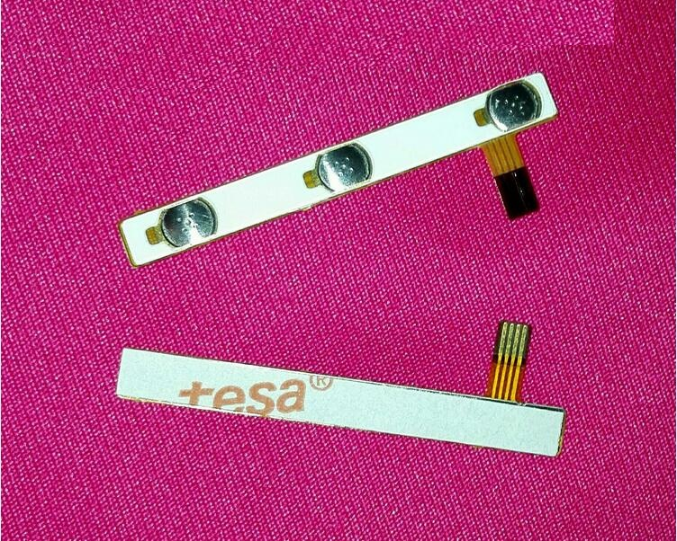 100 Genuine switch on off Power Volume button Flex cable For CUBE i10 tablet conductive flex