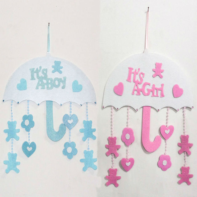 Christmas Ornaments For Baby Shower Favors : Baby room umbrella ornaments birthday party decorations