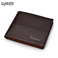 Vintage Men Wallet Short Leather Brand fashion Luxury Slim Male Purses Money Clip Credit Card Dollar Price Carte  007Q men wallet leather vintage purses high quality money bag credit card holders new dollar bill scrub short wallet wholesale price