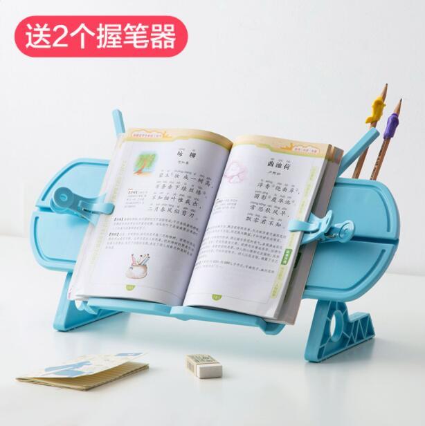 Bibliothèque de lecture Simple support de livre créatif étudiant support de livre organisateur de bureau