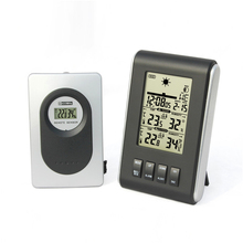 Indoor Outdoor LCD Digital Thermometer Hygrometer Pyrometer & Digital Temperature Humidity Meter Controller as Weather Station