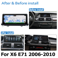 hd מסך אנדרואיד 8.0 עד DVD לרכב Navi Player עבור BMW X6 E71 2006 ~ 2010 סטריאו CCC אודיו HD מסך מגע הכל באחד (3)