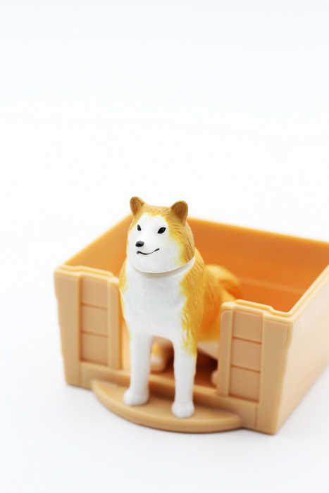 Cabeça Rotativa da pata do cão decoração Do Carro Animais Toy Figuras de Ação Anime com Cães Casa Figurinhas Presentes