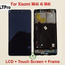 Ltpro Высочайшее качество полная ЖК-дисплей Дисплей + Сенсорный экран планшета Ассамблеи с Рамка Для Сяо Mi Mi4i Mi 4i M4i m4i запчасти для авто