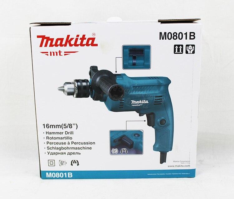 Купить с кэшбэком Japan M0801B Impact Drills Multifunction For Household Speed Regulation 500W Hand Drill Hammer