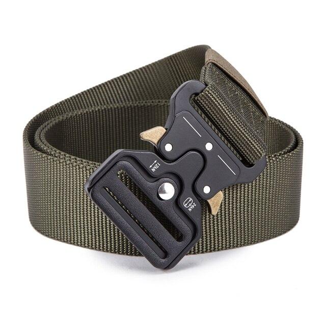 FRALU 2018 Hot Mens Tactical Belt Military Nylon Belt Outdoor multifunctional Training Belt High Quality Strap ceintures 5