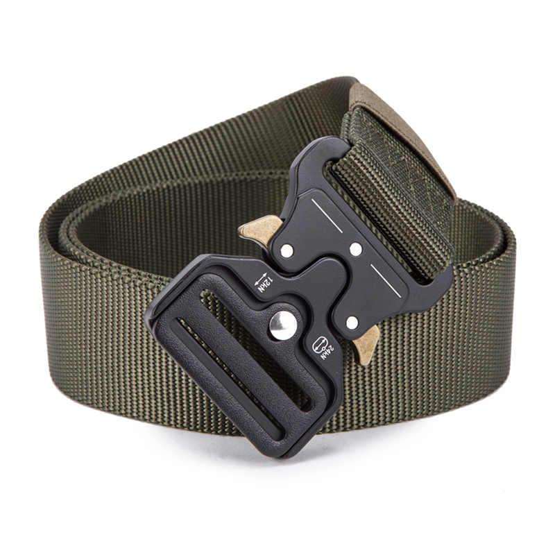 FRALU 2019 Горячие мужские тактический ремень Военный нейлоновый ремень Открытый Многофункциональный спортивный пояс высокого качества ремень ceintures