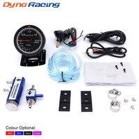 Dynoracing 60MM Car Turbo Boost gauge + Adjustable Turbo Boost Controller Kit 1 30 PSI IN CABIN Car Gauge Car Meter