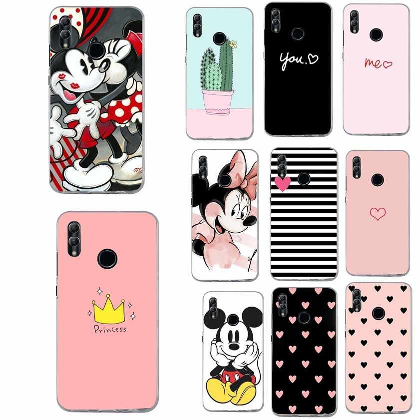 Cover For Huawei P Smart 2019 case Luxury Heart Print Case For Huawei P20 p10 Lite Honor 9 10 Lite Y5 2018 Phone Cases