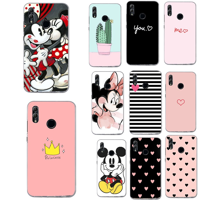 Cover For <font><b>Huawei</b></font> P Smart 2019 <font><b>case</b></font> Luxury Heart Print <font><b>Case</b></font> For <font><b>Huawei</b></font> <font><b>P20</b></font> p10 <font><b>Lite</b></font> Honor 9 10 <font><b>Lite</b></font> Y5 2018 Phone <font><b>Cases</b></font> image