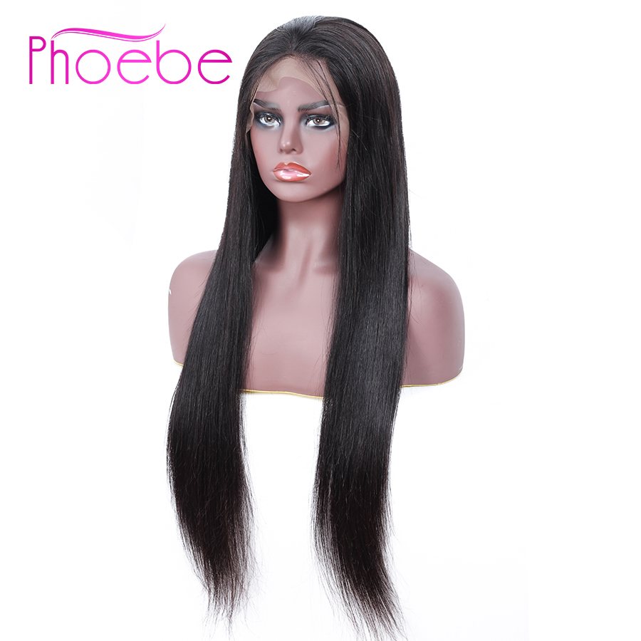 Phoebe 13x4 Lace Front Human Hair Wigs For Black Women Brazilian Straight Lace Front Wigs Baby