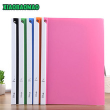 Premium-Color Report-Cover Spine-Bar/folder Transparent PP 5pcs/Lot Color-Random 5-Mounted