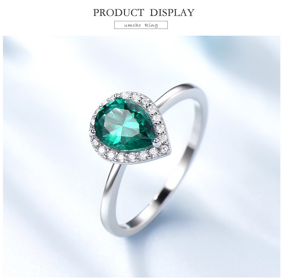 UMCHO-Emerald-925-sterling-silver-rings-for-women-RUJ046E-1-PC_03