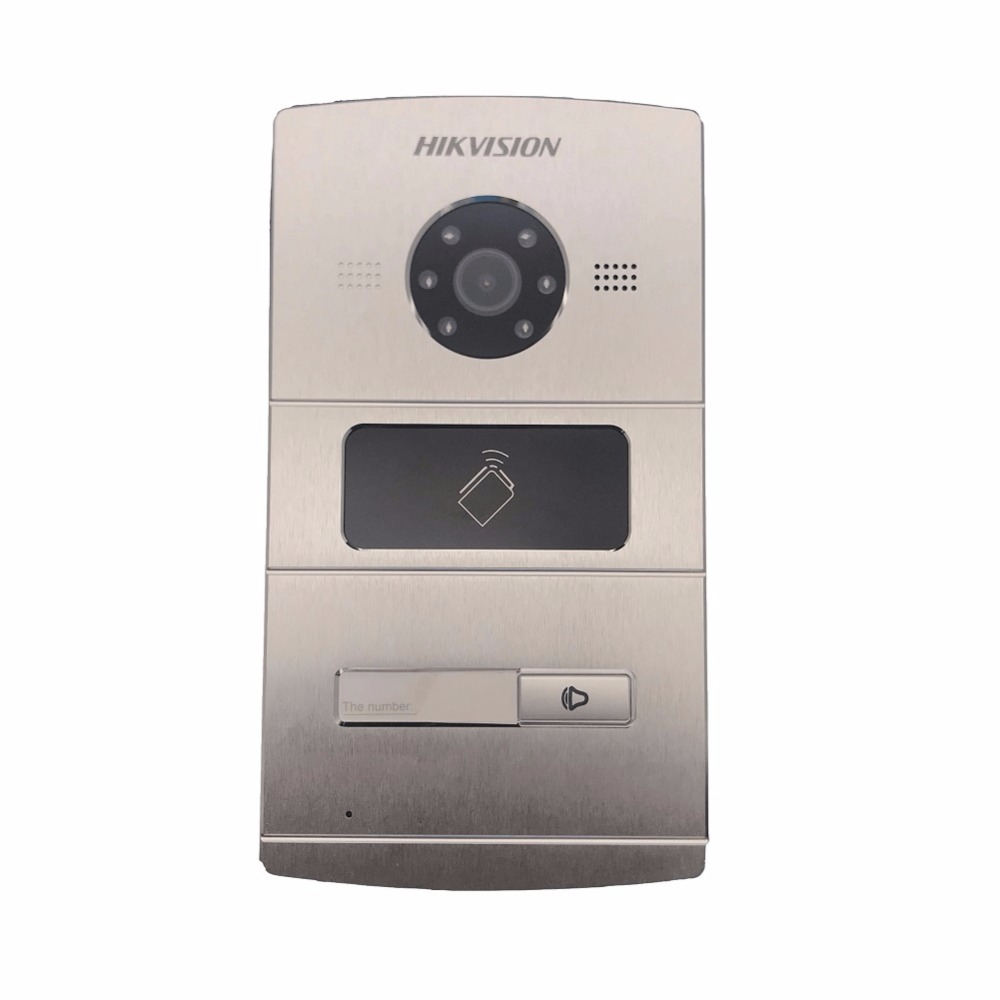 25 Multi-language, Support Upgrade.International Version Hikvision DS-KV8102-IM outdoor station, video intercom ds kab01 surface mounted box for ds kv8102 im ds kv8202 im ds kv8402 im