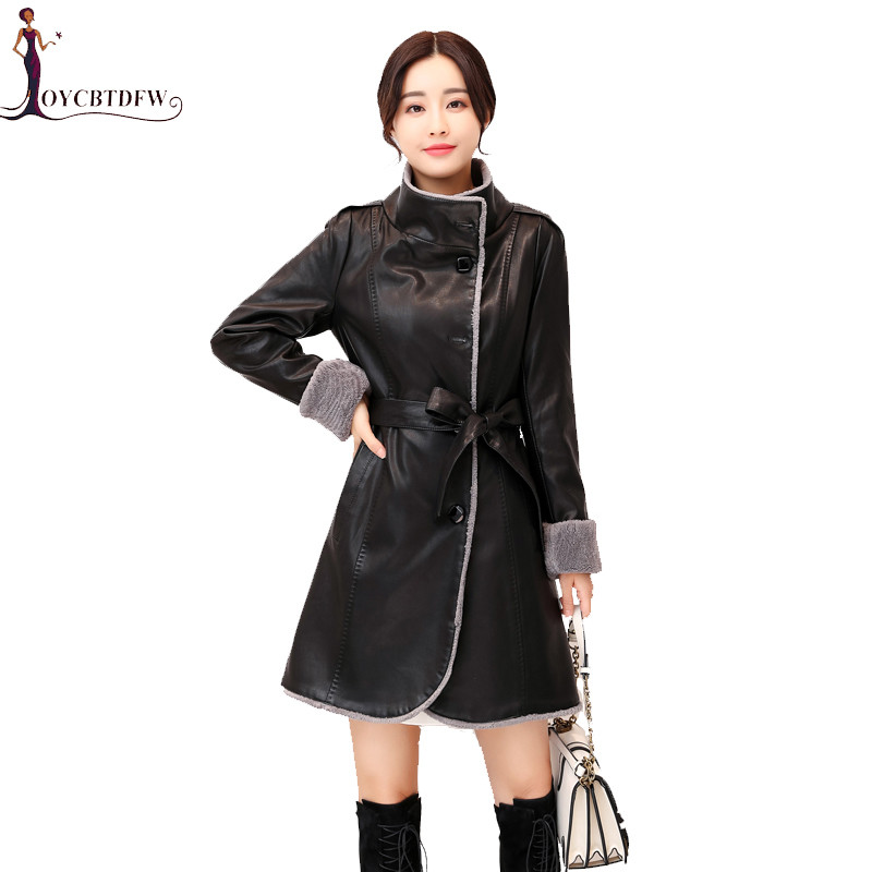 2018 Longue Survêtement X822 Parkas Velours Manteau En De Mi Nouvelle Grande Veste Fourrure Manteaux Taille Cuir 5xl Plus Hiver Mode Femmes Femme 1n6wHXfxq