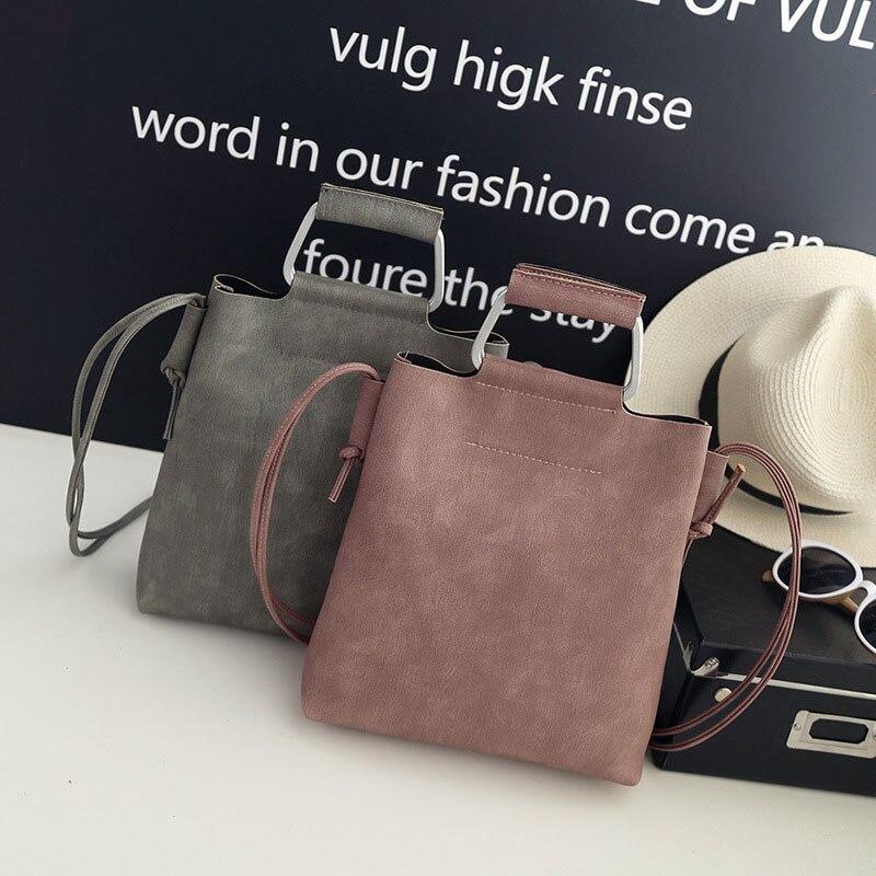 lidar com bolsa de mulher Color : Pink Gray Black
