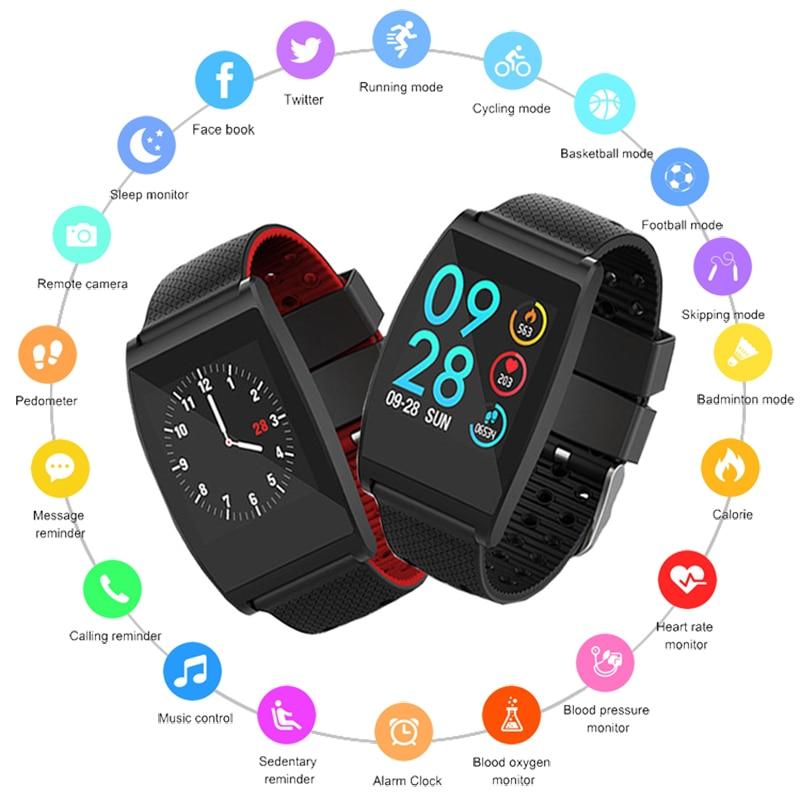 New Smart Watch Men Women Heart Rate Monitor Waterproof Sport Watch Smart Watches Fitness Tracker Smartwatch For IOS Android