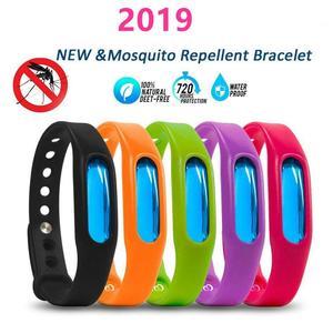 Image 3 - צבעוני יתוש דוחה צמיד קיץ סיליקון נגד יתושים כמוסה נגד חרקים חרקים דוחה חגורת ילד חגורת בטיחות