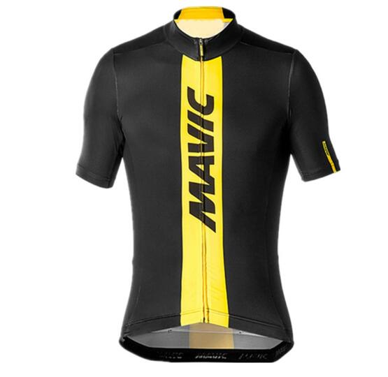 цена на 2018 Summer Mavic Cycling Jersey Cycling Clothing Racing Sport Bike Jersey Tops Cycling Wear Short Sleeves Maillot ropa Ciclismo