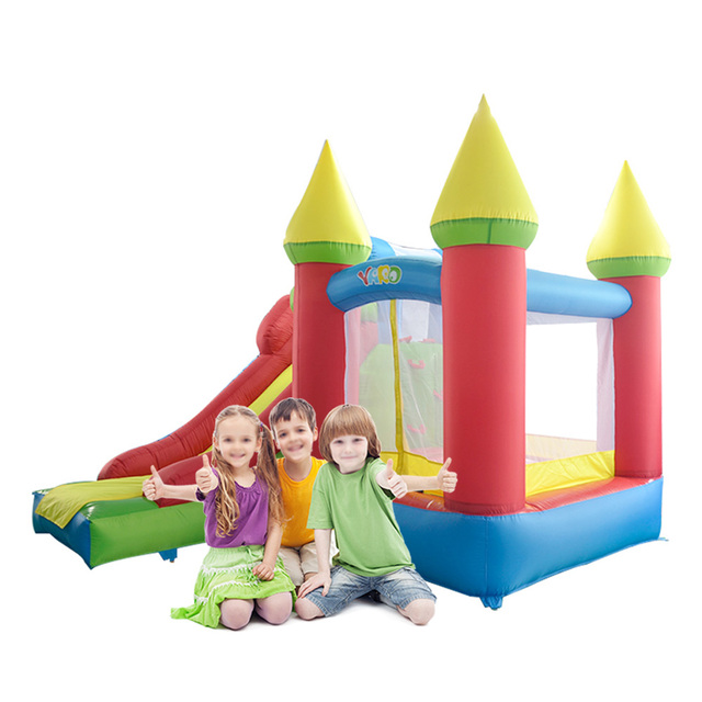 YARD Colorful Bouncy Castle Inflatale Slide for Children Party Outdoor Play Toys Special Offer for European Countries