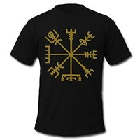 2017 New Arrival Vegvisir Viking Compass Men S T Shirt 100 Cotton O Neck T Shirt