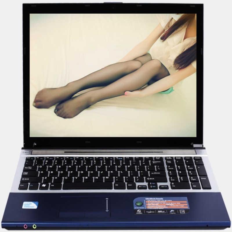 إنتل الأساسية i7 CPU HD الرسومات دفتر 8GB RAM + 60GB SSD + 2000GB HDD الألعاب المحمول ويندوز 10 دفتر المدمج في بلوتوث DVD-RW