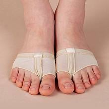 1 pair Belly Ballet Dance Toe Pad Practice Shoe Foot Thong Care Tool Half Sole Gym Sock Dance shoes(China)