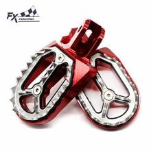 Alüminyum CNC Motocross kir arazi motosikleti ayak Peg pedalı Footpegs Footrest Honda CRF230 CRF230F CRF 230 2003 2017 2004 2005