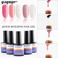 Yayoge 10ml Dicas Acrílico Gel Poli Construção Rápida Gel Unha Rápida Extensão Do Dedo Cola Nail Art Gel UV Builder laca