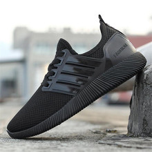 2017 New Men's Shock-Absorbant Running Shoes  Mesh Breathable Rubber Bottom Cushioning Men Sneakers Male Sports Running Shoes