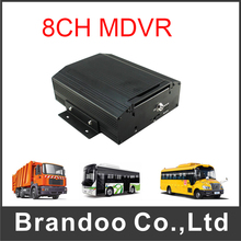 8 CH D1 MDVR For Bus Taxi Support Max 2TB Memory HDD Mobile Car DVR