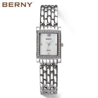 Нержавеющаясталь Японии кварцевый механизм леди часы Montre Femme Relogio Feminino тонкий Для женщин часы 2617L