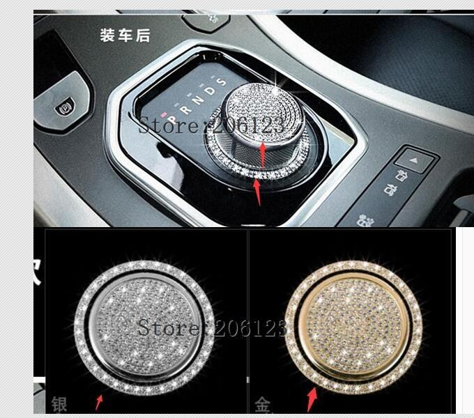 Shift Knob Sticker Accessories For Rang Rover Evoque For Land Rover Discovery Sport Discovery 4 For Jaguar Xf Xj Xe