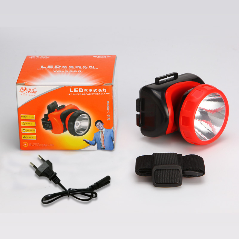 YAGE Rechargeable Led Head Lamp Lights Headlamp on Your Forehead Flashlight Head Light Led Lintern Head Touch Fishing Lanterna