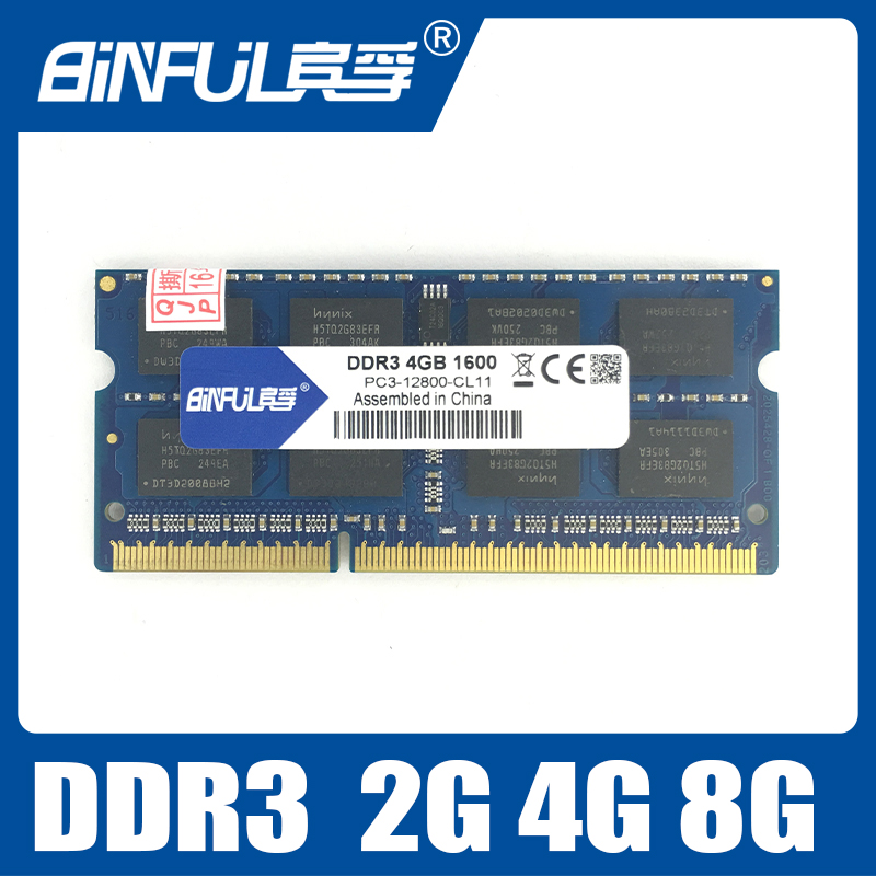 Binful DDR3 1066/1333/1600Mhz 2GB/4GB SODIMM Memory Ram memoria ram For Laptop Notebook Lifetime Warranty