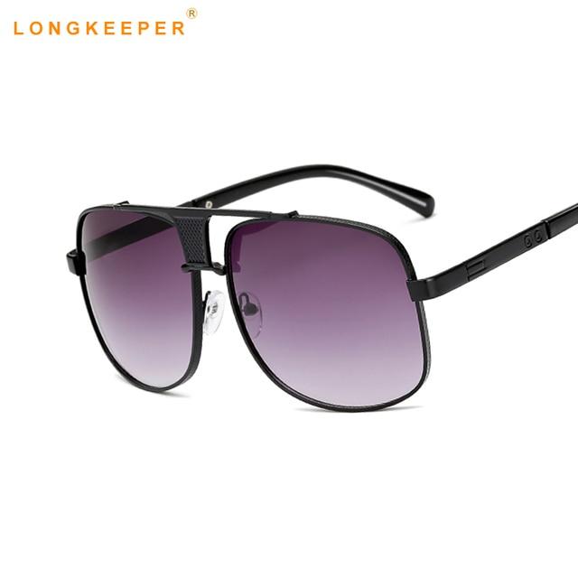 33ff78145a 2018 New High Quality Brand Designer Square Sunglasses Men Retro Vintage  Driving Sun Glasses For Men